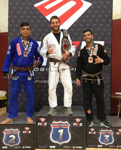 Lawrence Dunning BJJ win