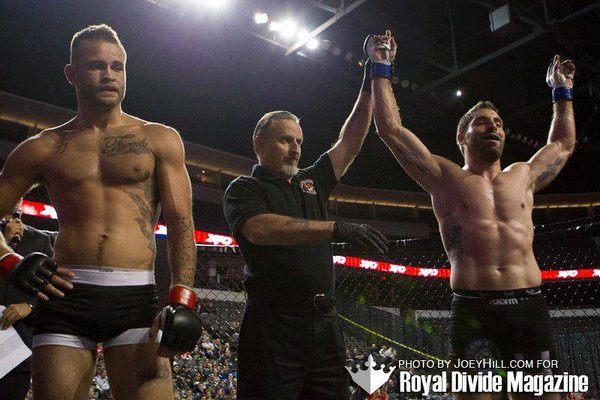 Lawrence Dunning MMA win
