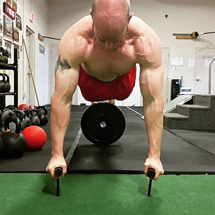 Levi Markwardt Advanced Neuro-Grip Pushup