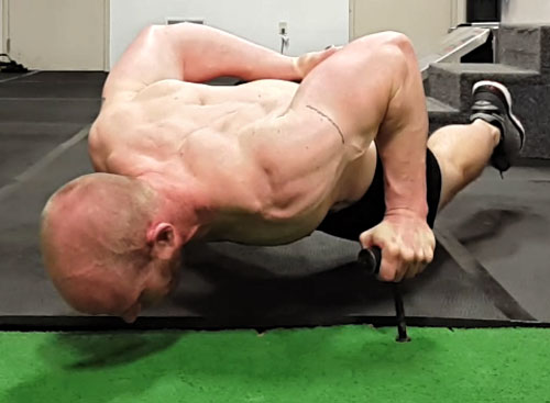 Levi Markwardt One-Arm Neuro-Grip Push-up