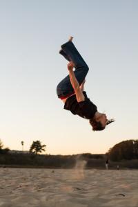 Logan Christopher Backflip