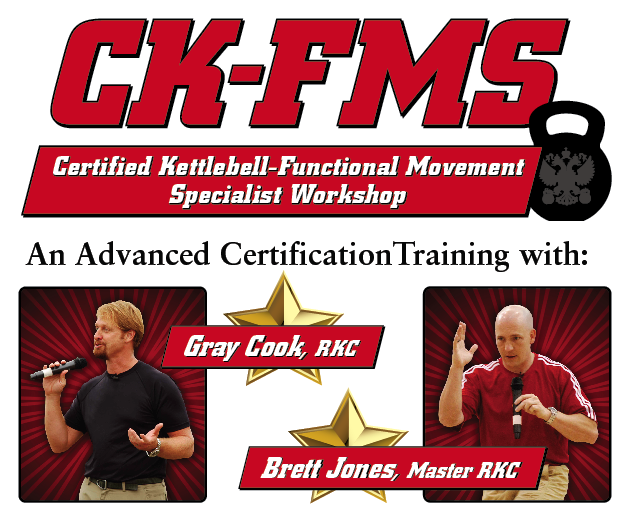 Certified Kettlebell Functional Movement Specialist Ck Fms