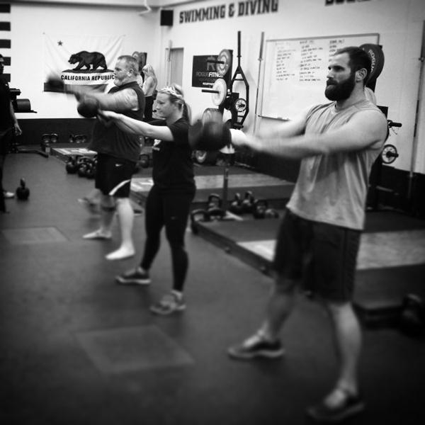 Chris White Kettlebell Amigos Swing
