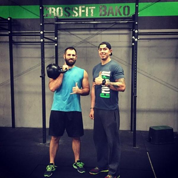 Chris White Kettlebells CrossFit Bako