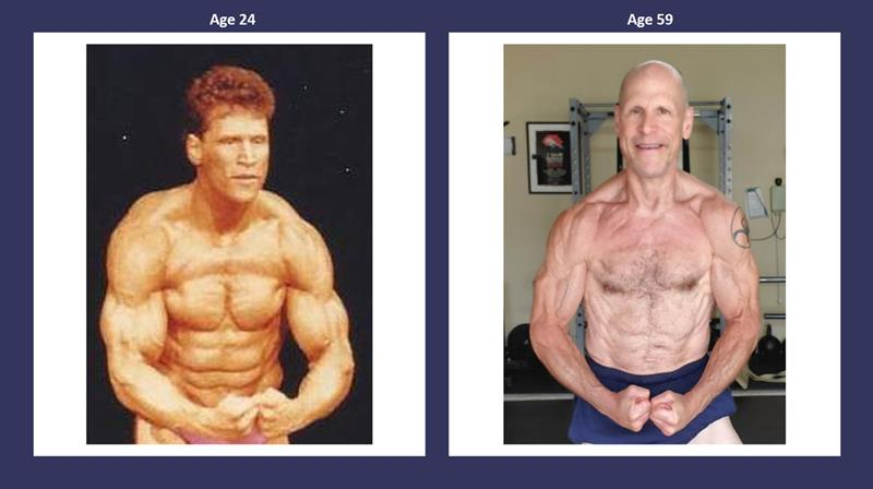 Dr Steven Horwitz Age 24 and Age 59
