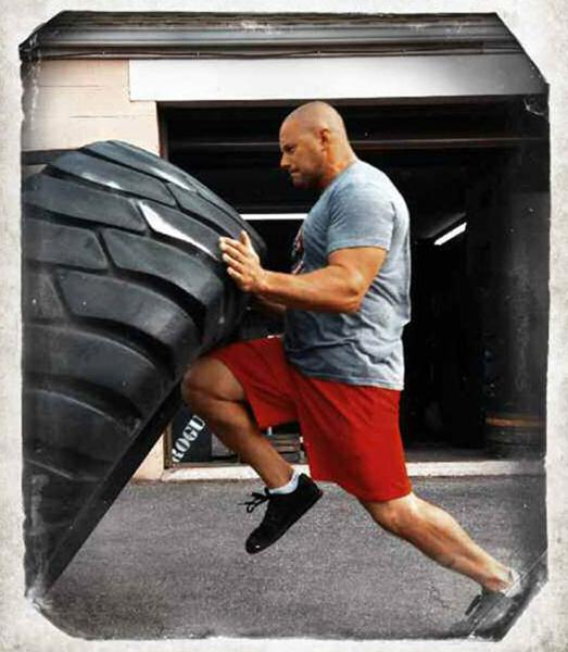 Zach Even-Esh Training with Tires Encyclopedia of Underground Strength and Conditioning
