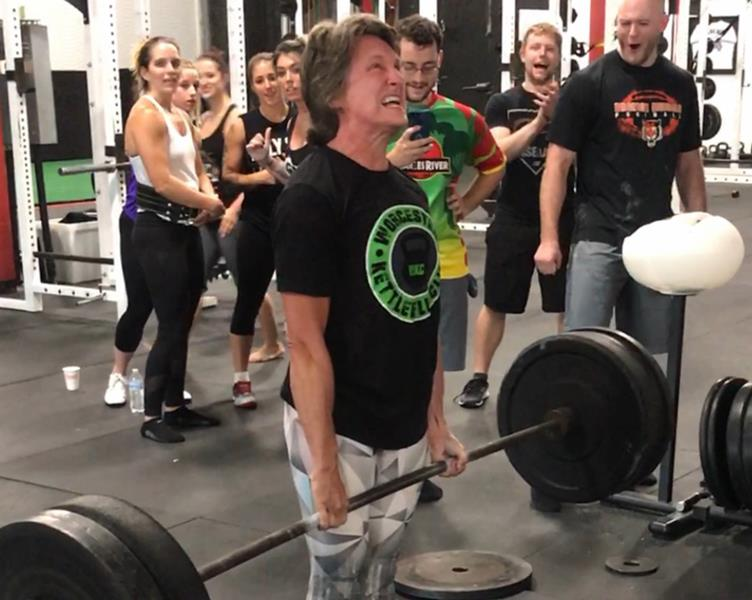 Mary Surprenant Barbell Deadlift