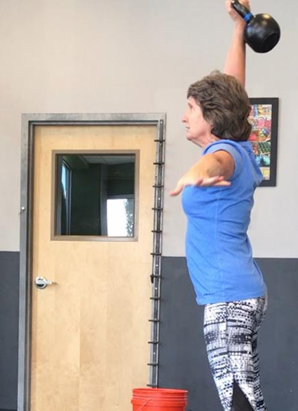Mary Surprenant, RKC Kettlebell Snatches