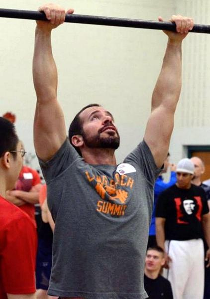 Peter D'Epiro At His First PCC -  Pull-Ups