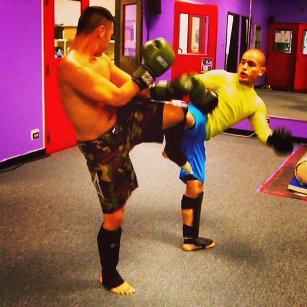 RamyDaoudSparring2