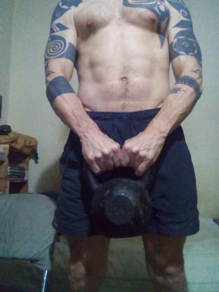 Rob Langdon 20kg Kettlebell From Australian Embassy