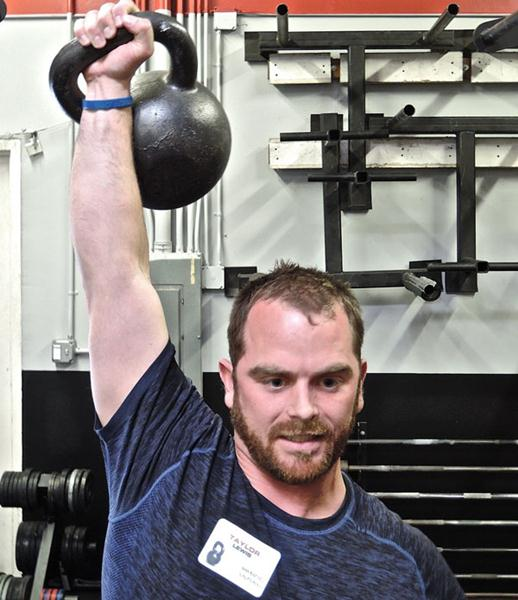 Taylor Lewis At San Jose RKC Kettlebell Press