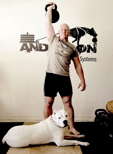 TroybvAnderson with Kettlebell