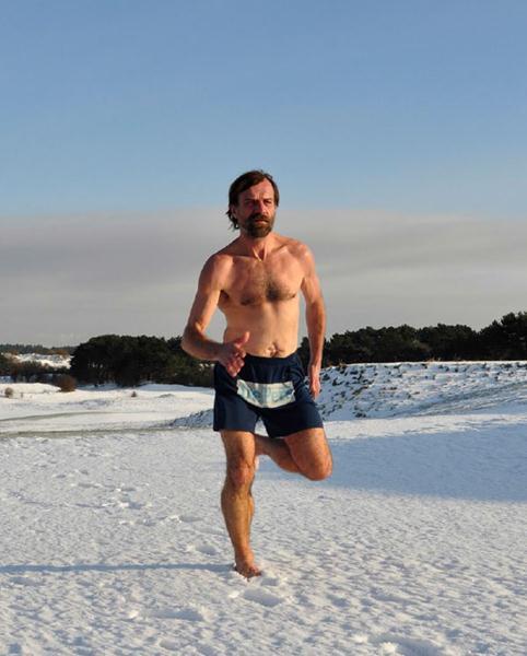 Wim Hof Ice Running