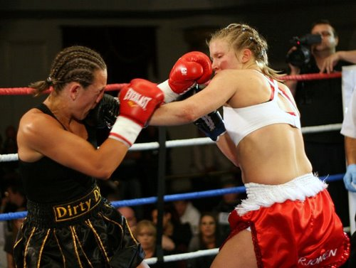Malin Kirjonen Boxing in the Ring