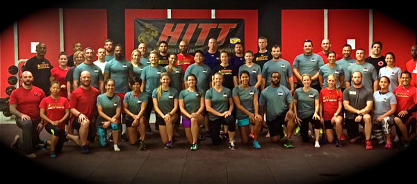 Marines Semper Fit HKC Group Photo