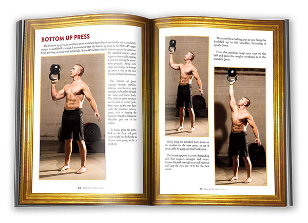 Master The Kettlebell Bottom Up Press Page