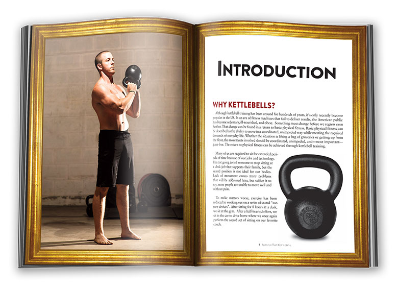 Inside pages of Master The Kettlebell: Introduction