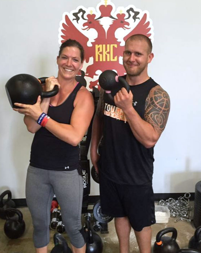 Matt Sillanpaa, RKC and Julie Sillanpaa, RKC with Kettlebells