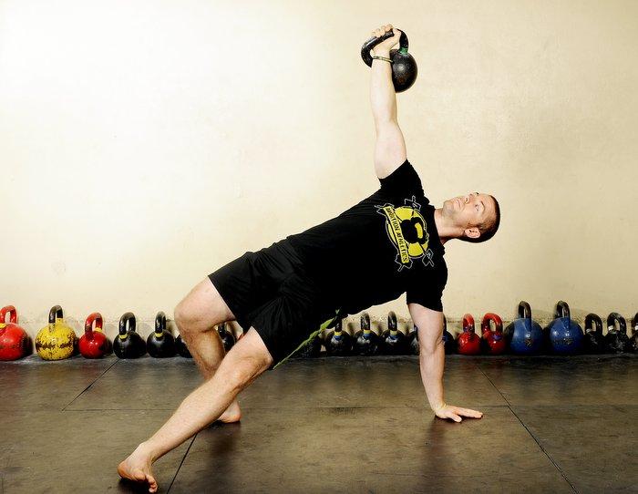 Max Shank Kettlebell Get-Up