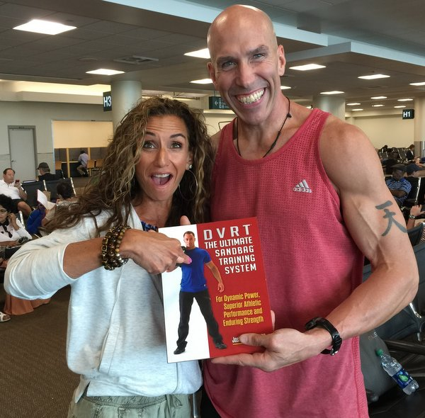 Michael Anderson and Janice DeAngelis with DVRT Book