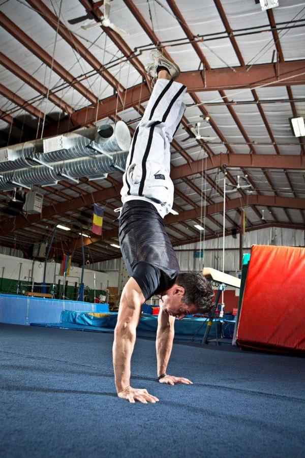 Michael Polito Handstand