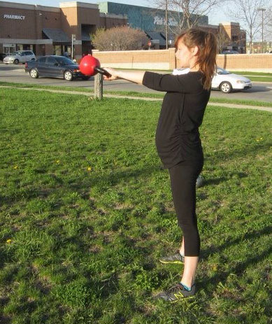 Natalie Lynch Kettlebell Swings