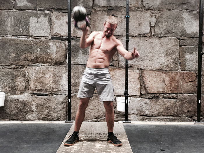 Nathan Gagnon Kettlebell Snatches