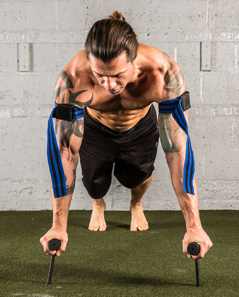 Occlusion Neuro-Grip Push-Up