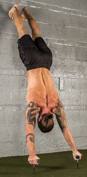 Neuro-Grip Wall Walking handstand