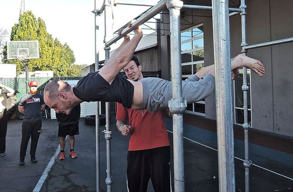 Nick Collias Back Lever at the PCC