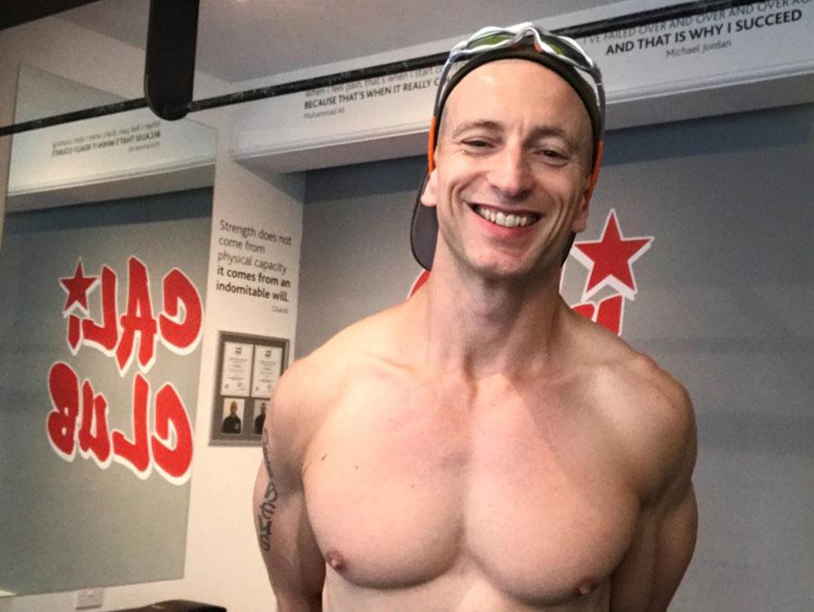 Nigel Wills PCC At Cali-Club Gym