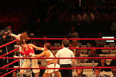 Noriko Kariya Boxing
