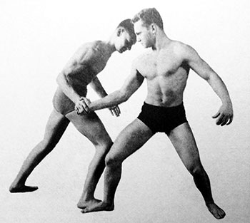 Old School Partner Grip Exercise