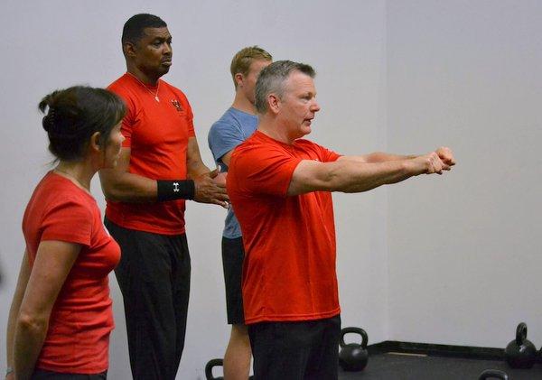 RKC Team Leader Paul Britt Coaching
