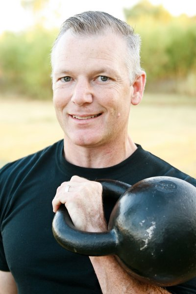 RKC Team Leader Paul Britt with Kettlebell
