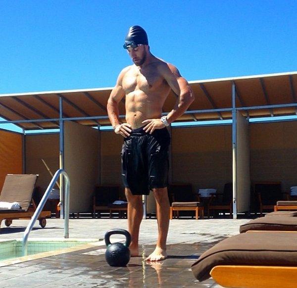 Paul Kolososki Pool Kettlebell Workout