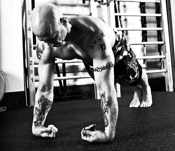 Phil Ross Back of Wrists Push-ups