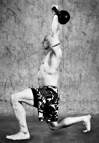 Phil Ross Kettlebell Get-up