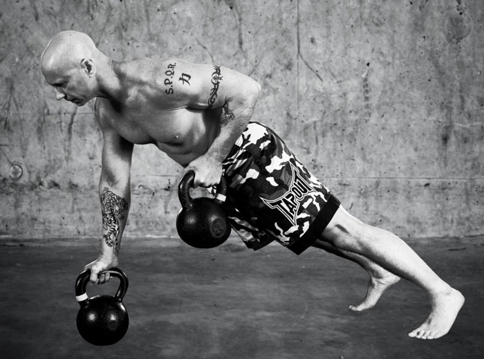 Master RKC Phil Ross Kettlebell Rows