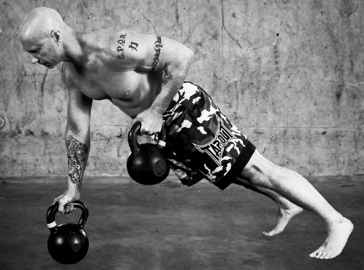 Phil Ross Kettlebell Rows
