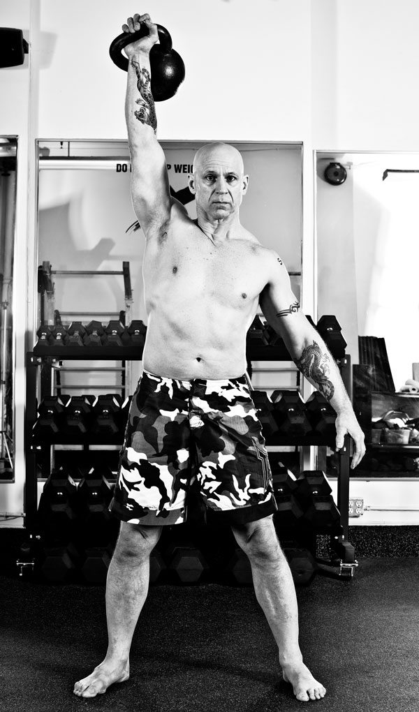 Phil Ross Kettlebell Snatches
