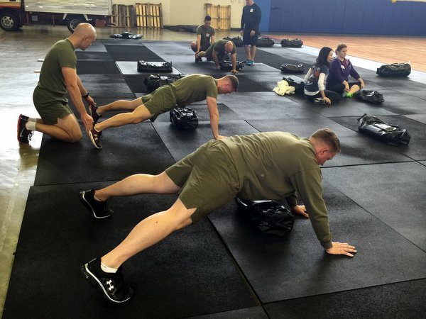 Ultimate Sandbag Plank Bag Drag - tactical fitness training