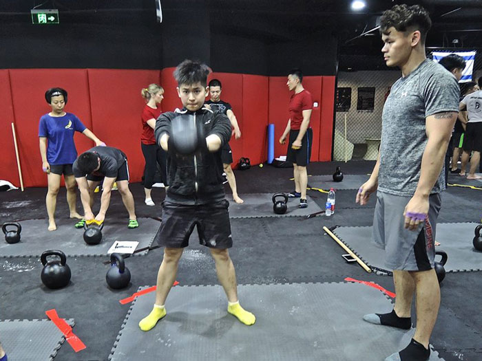 RKC China Kettlebell Swings