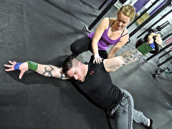 RKC Coaching Arm Bar