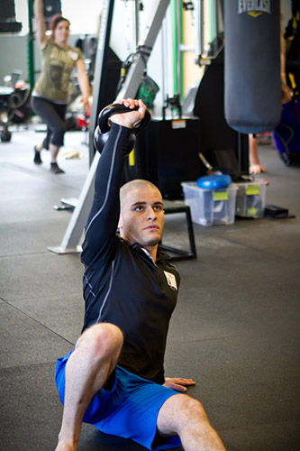 Ramy Daoud Kettlebell Get-Up