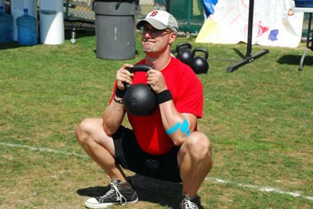 Rob Exline RKC Workshop Kettlebell Goblet Squat