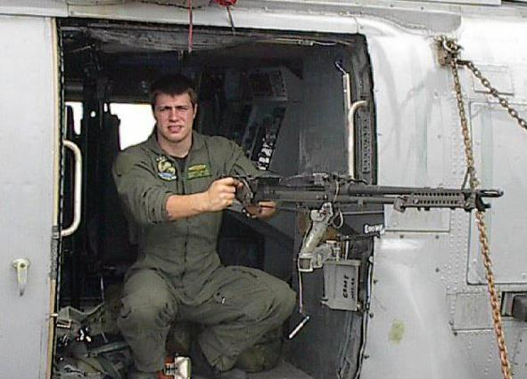 Robert Miller Navy Helicopter Door Gunner