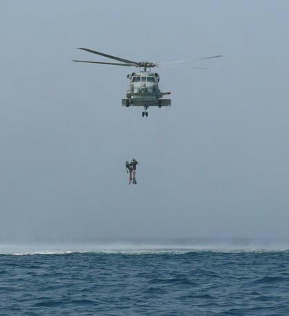 Robert Miller Navy Helicopter Rescue Hoist
