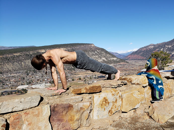 Sage Petersen Pushups In Nature